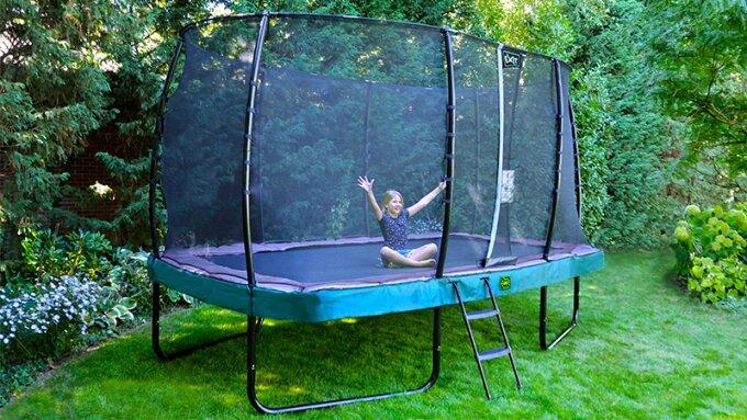 Ein Bodentrampolin oder ein Trampolin auf Füßen? - Trampolinkauf - trampolin-profi.de
