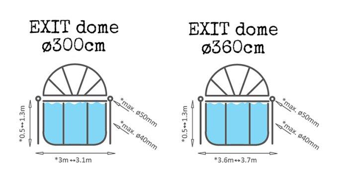exit pool mit dach 360